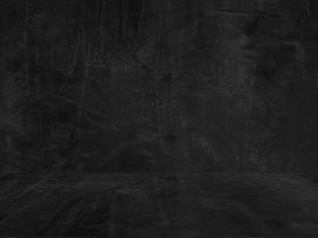 Mur De Béton Grunge Sombre Photo Premium