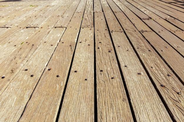 Mur en bois sale Photo Premium