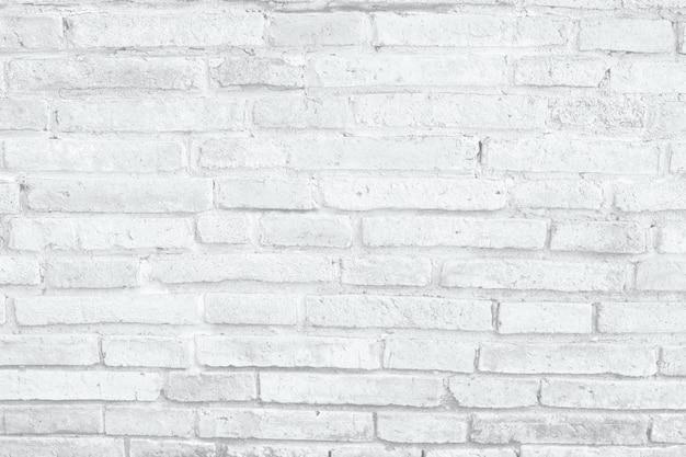 Mur de briques blanches Photo Premium