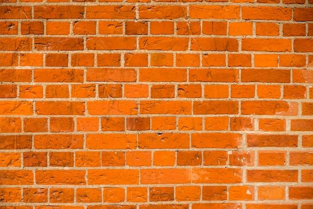 Mur de briques avec des briques et du béton Photo gratuit