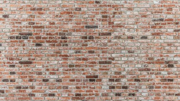 Mur de briques de couleur rouge Photo Premium