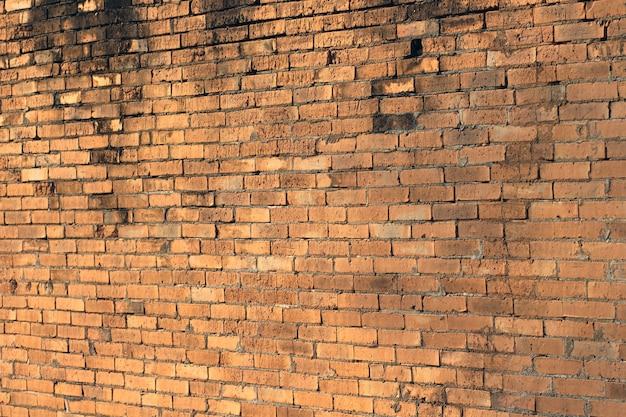 Mur De Briques Fissuré Photo Premium
