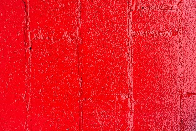 Mur de briques rouges abstrait Photo gratuit