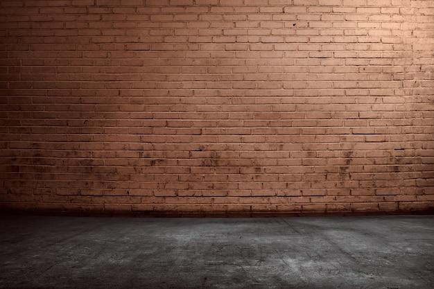 Mur de briques rouges Photo Premium