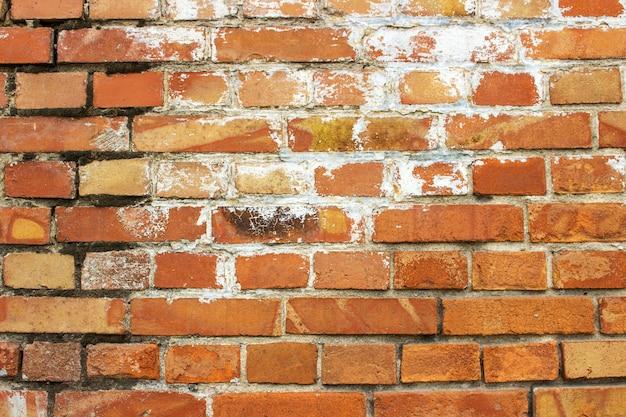 Mur de briques texture urbaine rue fond grunge Photo Premium