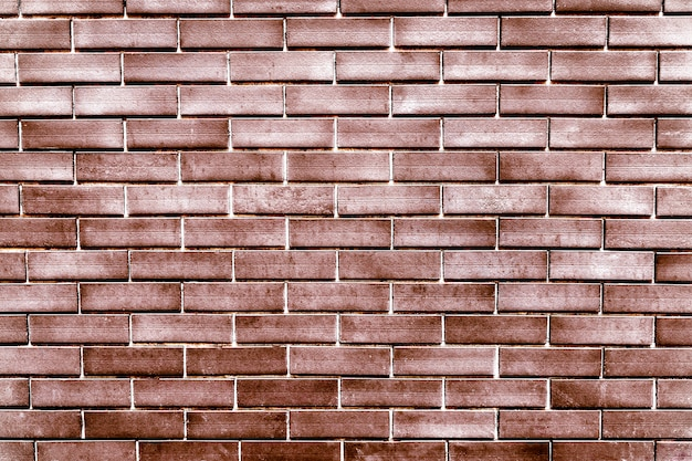 Mur de briques vintage en cuivre Photo gratuit