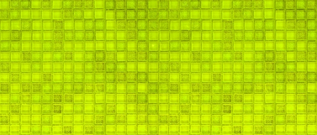 Mur de carreaux de mosiac vert Photo Premium