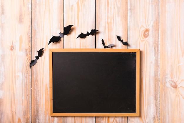 Mur de chauve-souris et tableau de décoration Photo gratuit