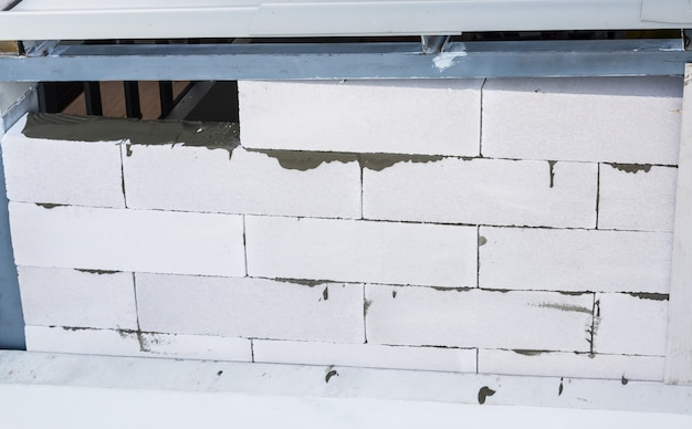 Mur de construction Photo Premium