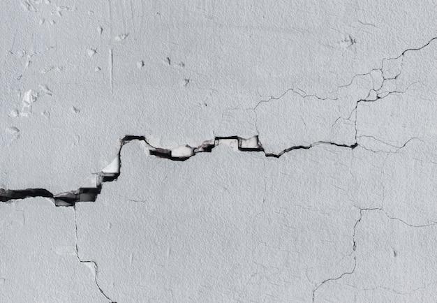 Mur Avec Des Fissures Photo Premium