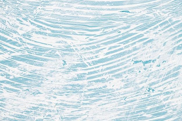 Mur malpropre peint avec bleu et blanc Photo gratuit