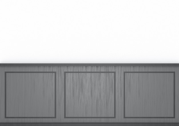 Mur moderne modèle gris foncé sur fond de ciment blanc. Photo Premium