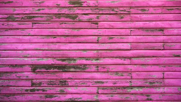 Mur peint en bois rose des caraïbes mahahual Photo Premium