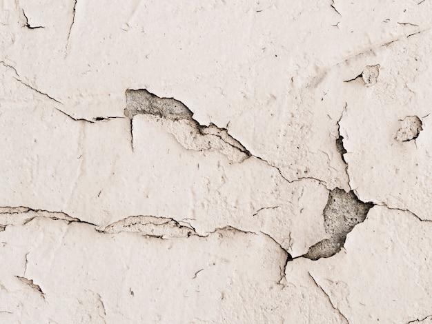 Mur De Plâtre Endommagé Fond Texturé Photo gratuit