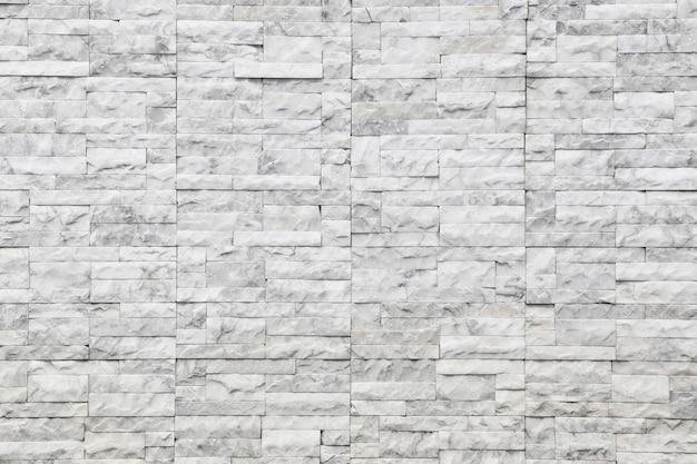 Mur de texture en marbre blanc de fond et motif de pierre. Photo Premium