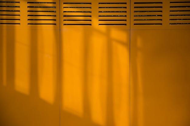 Mur de la ville avec des ombres Photo gratuit