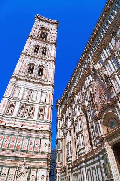 Murs De Marbre Sans La Cathédrale De Florence. Photo Premium