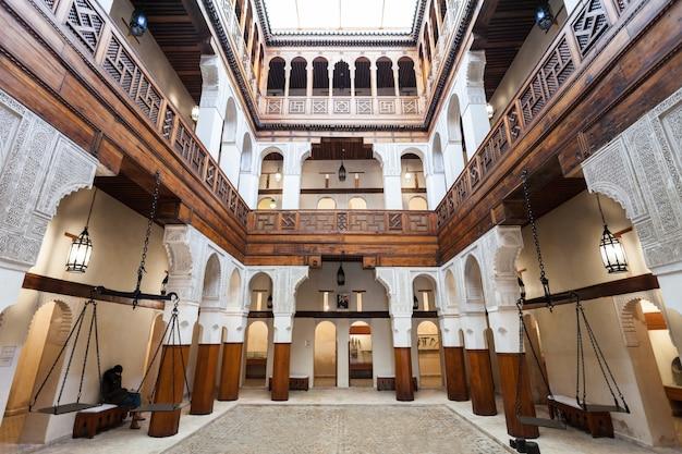 Musée nejjarine, fès Photo Premium