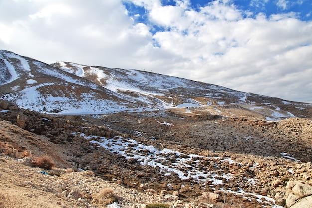 Nature Dans La Vallée De La Bekaa Au Liban Photo Premium