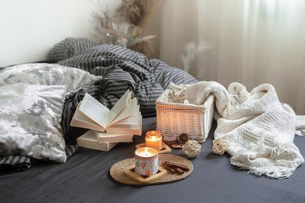 Nature Morte Maison Confortable Avec Des Détails Décoratifs à L'intérieur Photo gratuit