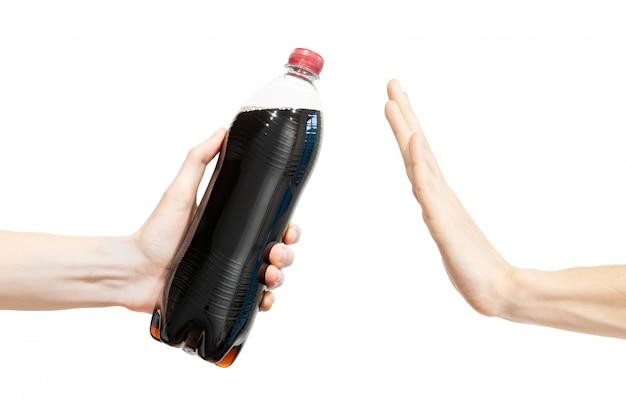 Ne dis pas de soda noir. Photo Premium