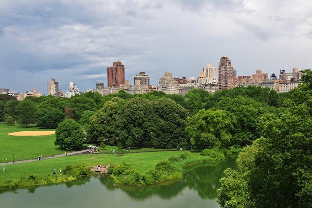 New York Central Park, états-unis Photo Premium