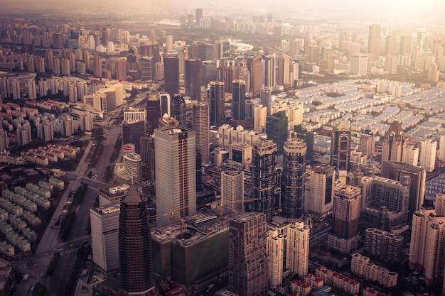 New york paysage urbain de la ville Photo gratuit