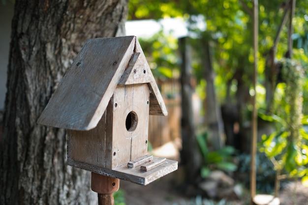 Nid D'oiseau, Maison Pour Animal Photo Premium