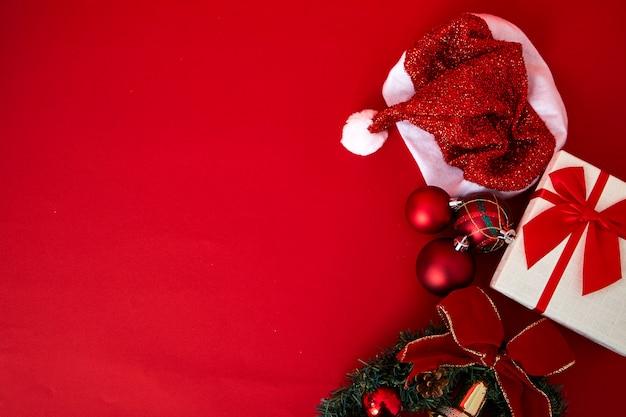 Noël, nouvel an 2019 en arrière-plan Photo Premium