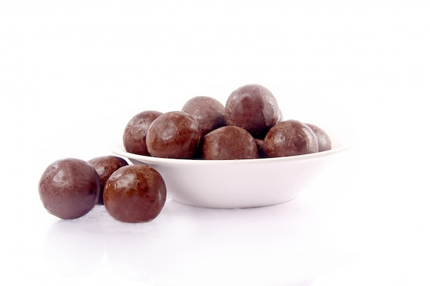 Noisette Au Chocolat Photo Premium