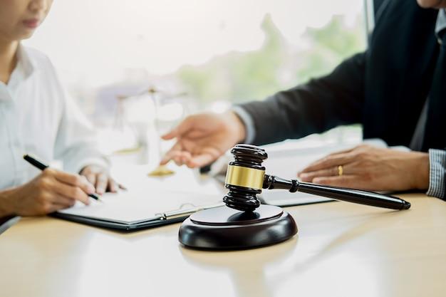 Notions De Droit Et Services Juridiques Photo Premium