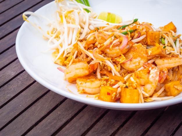 Nouilles pad thaï Photo gratuit
