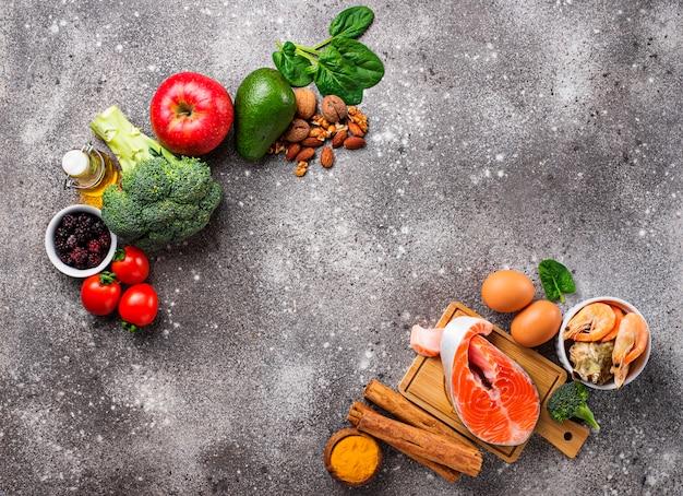 Nourriture pour le cerveau et bonne mémoire Photo Premium