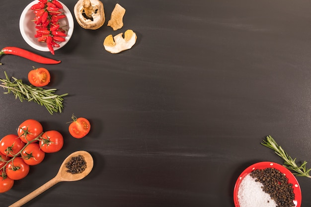 La nourriture végétarienne Photo gratuit