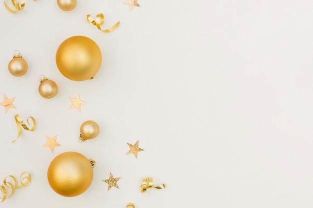 Nouvel An Fête Fête Décoration Avec Espace De Copie Photo gratuit