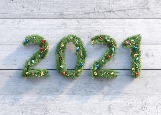 Nouvel An Et Fond De Noël Fait D'arbres De Noël Photo Premium
