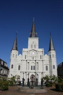 La nouvelle-orléans - saint louis cathédrale, église Photo gratuit