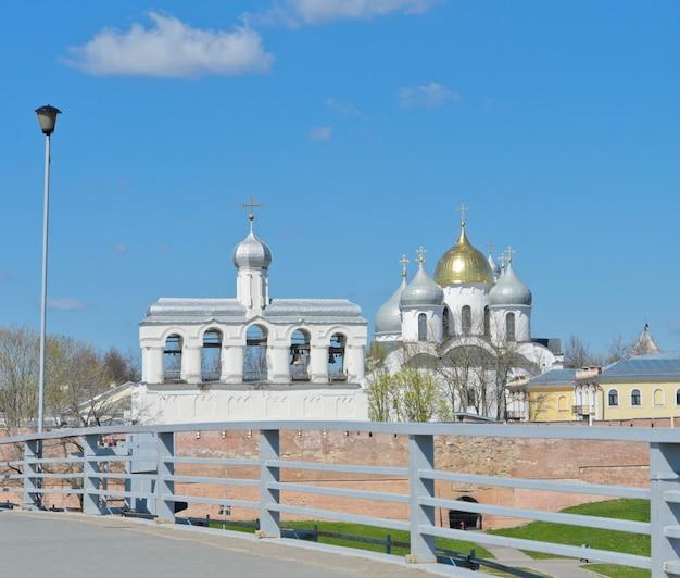 Novgorod kremlin à veliky novgorod, russie. Photo Premium