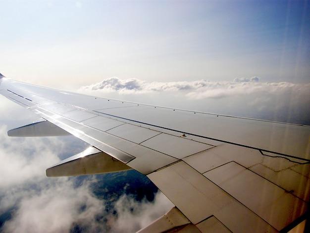 Nuage avion cieux ali compagnies aériennes avion d'air Photo gratuit