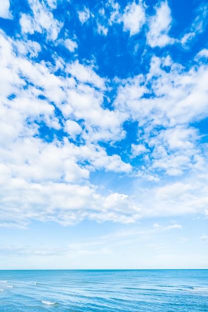 Nuage Blanc Sur Le Ciel Bleu Et La Mer Telecharger Des Photos