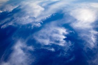 Nuages ciel bleu nuageux Photo gratuit