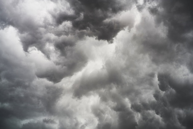 Des nuages orageux Photo gratuit