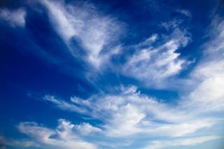 Nuageux ciel bleu somadjinn Photo gratuit