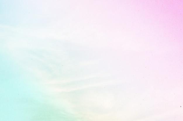 Nuageux est un dégradé de pastel, fond de ciel abstrait de couleur douce. Photo Premium