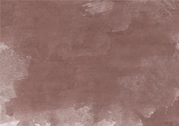 Nuances colorées de brun. texture et fond abstrait aquarelle Photo Premium