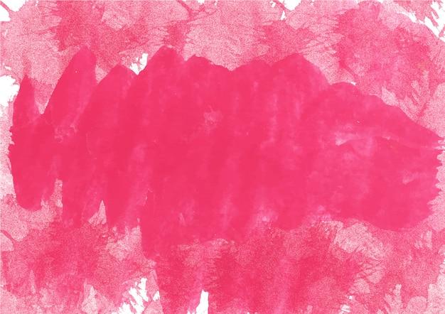 Nuances colorées de rouge. texture et fond abstrait aquarelle Photo Premium