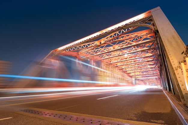 La nuit du pont moderne, Photo Premium