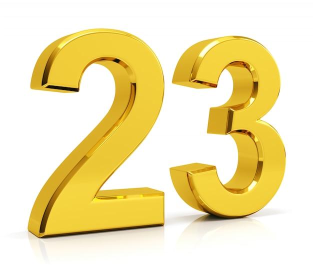 Numéro 23 Photo Premium