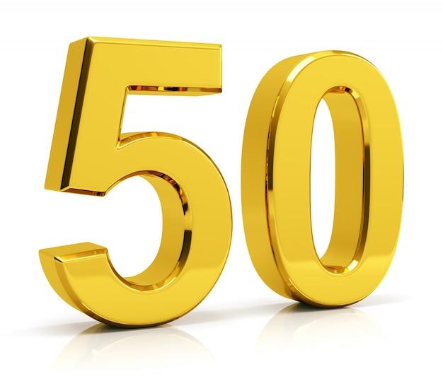 Numéro 50 Photo Premium