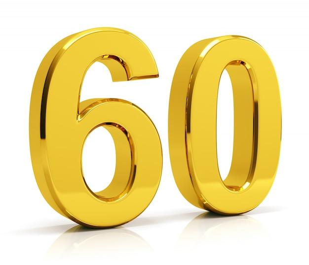 Numéro 60 Photo Premium